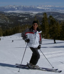 Author on the Slopes