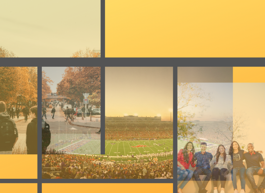 Campus collage